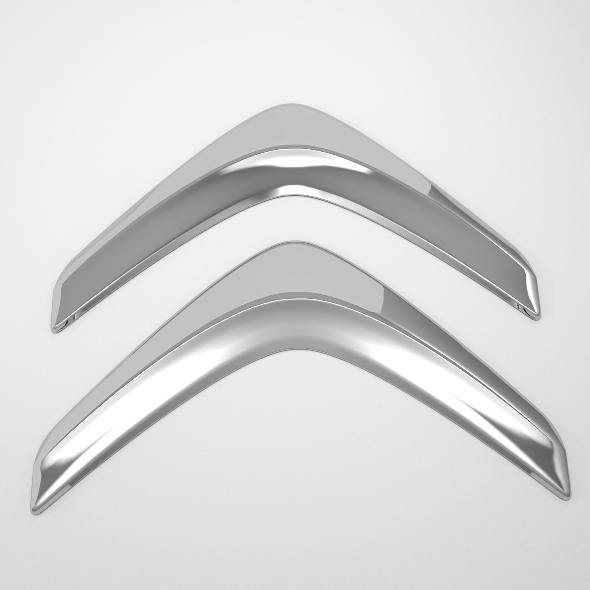 Citroen Logo - 3DOcean Item for Sale