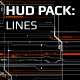 Hud Pack - Lines - VideoHive Item for Sale
