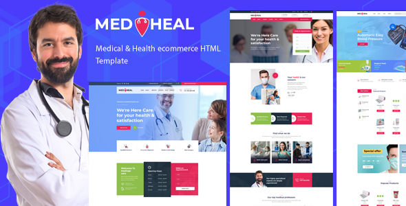 Great Medheal - Medical & Healthcare Template