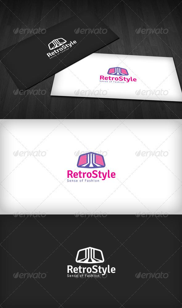 Retro Style Logo - Vector Abstract