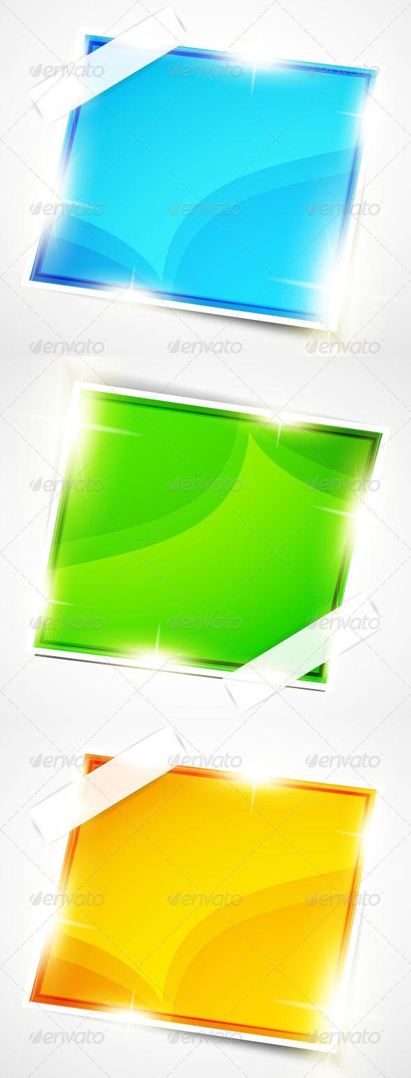 Shiny Glossy Stickers - Decorative Symbols Decorative