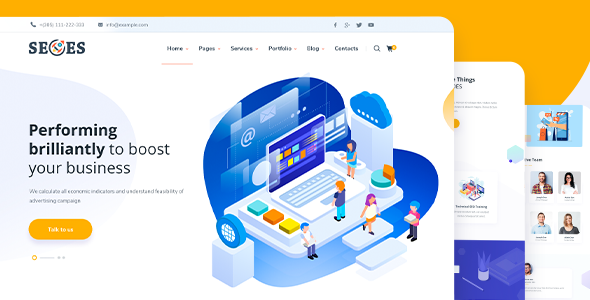 Seoes - Marketing Agency WordPress Theme by RB-Themes | ThemeForest
