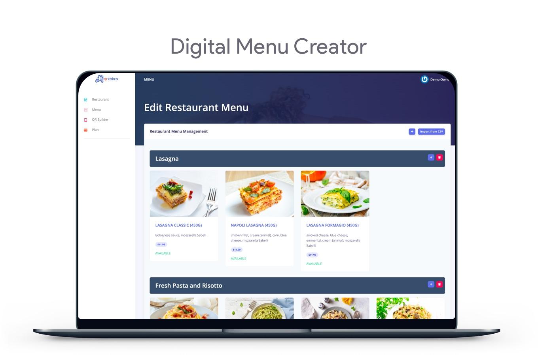 QR Menu Maker - SaaS - Contactless qr restaurant menus - 10