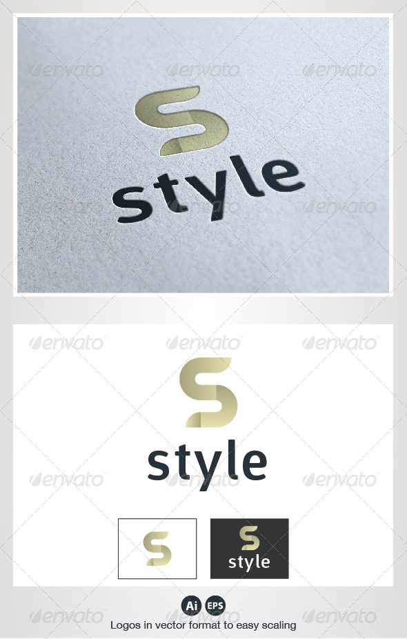 Style S Letter Logo - Letters Logo Templates