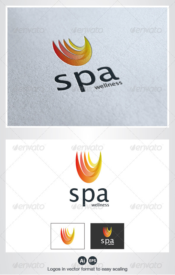 Spa Wellness Logo - Symbols Logo Templates
