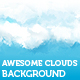 Awesome web 2.0 incorporated clouds backround - GraphicRiver Item for Sale