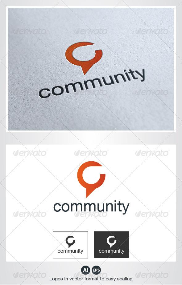 Community Logo - Letters Logo Templates