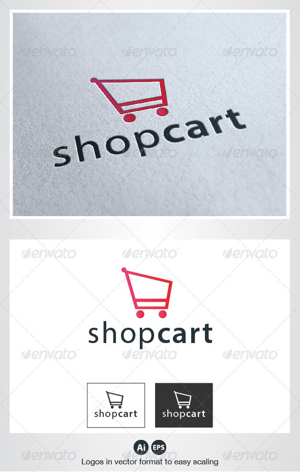 Shop Cart Logo - Objects Logo Templates