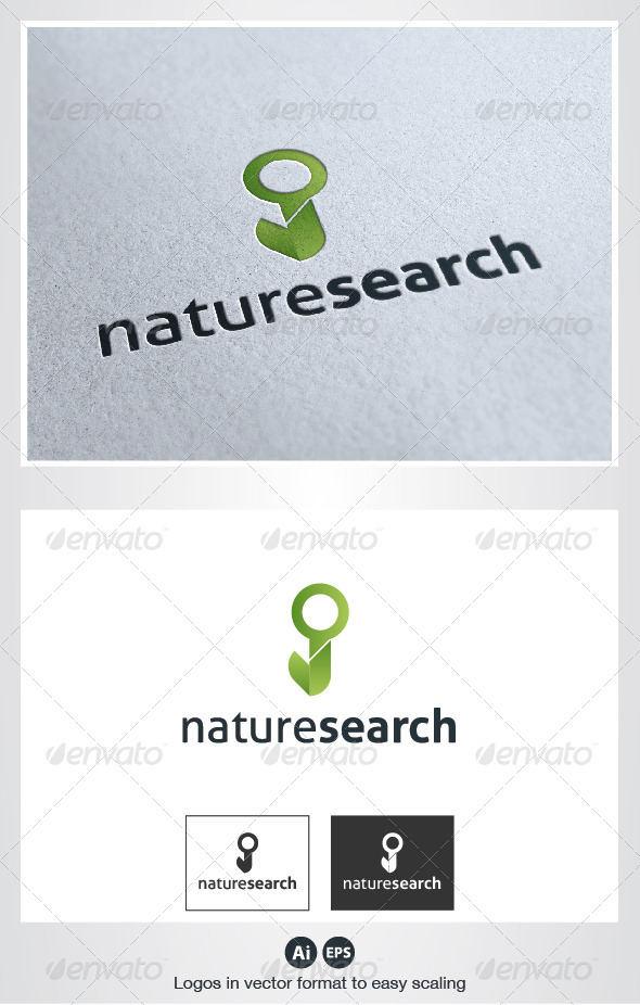 Nature Search Logo - Nature Logo Templates