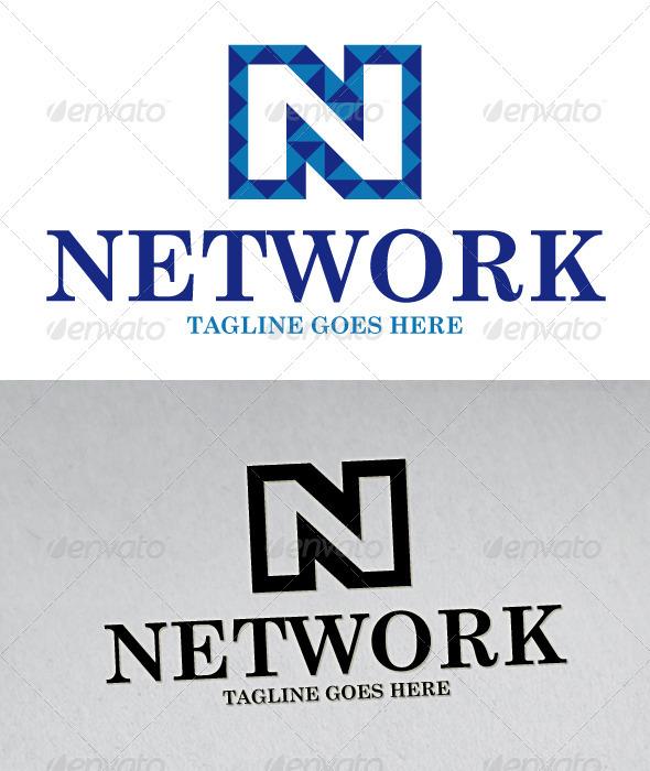 N Letter Logo - Letters Logo Templates