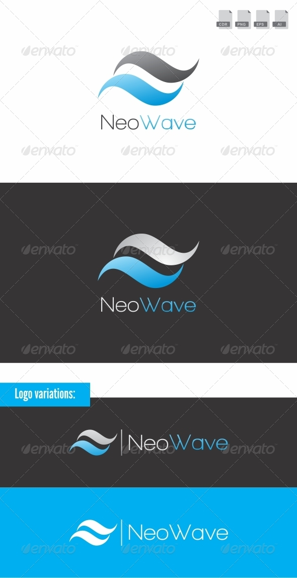 Neo Wave - Letters Logo Templates