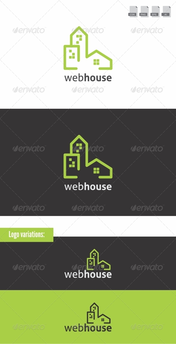 Webhouse - Buildings Logo Templates