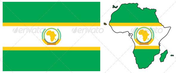 African Union  - Conceptual Vectors