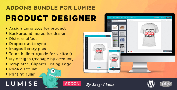 Addons Bundle for Lumise Product Designer Nulled