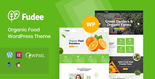 Fudee - Organic Food WordPress Theme