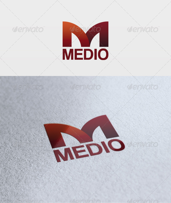 Medio Logo - Letters Logo Templates
