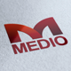 Medio Logo - GraphicRiver Item for Sale