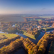 Aerial view of Fortification village of Bourtange - PhotoDune Item for Sale