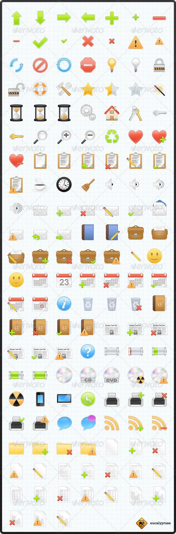 150 Web & Software Icons - Web Icons