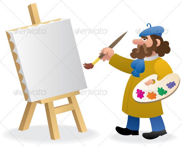 Artist - Characters Vectors