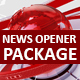 Broadcast News Opener Package - VideoHive Item for Sale