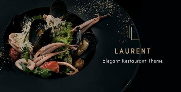Laurent - Elegant Restaurant Theme
