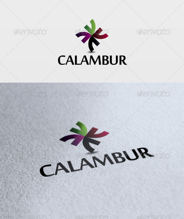 Calambur Logo - Vector Abstract