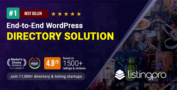 Wondrous ListingPro - WordPress Directory Theme