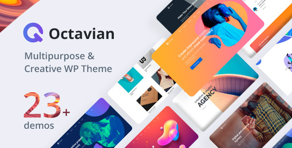 Octavian | Creative Multipurpose WordPress Theme