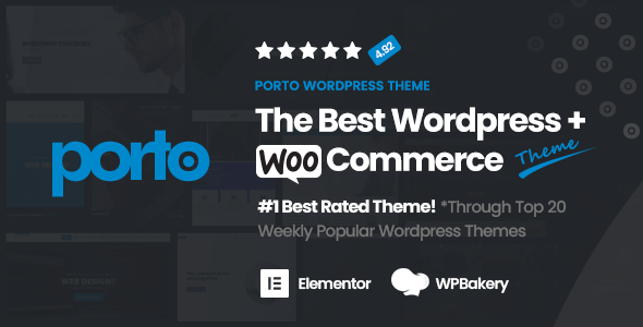 Porto Multipurpose Woocommerce Theme By P Themes Themeforest