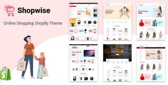 Shopwise – eCommerce Shopify Theme