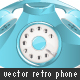 Retro Phone 01 - GraphicRiver Item for Sale