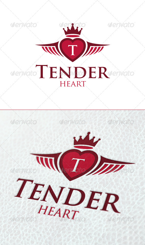 Tender Heart - Crests Logo Templates