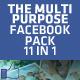 11 in 1 Mega Facebook Timeline Cover Templates - GraphicRiver Item for Sale