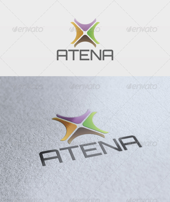 Atena Logo - Vector Abstract