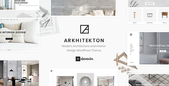Arkhitekton Modern Architecture And Interior Design Wordpress Theme By Neuronthemes