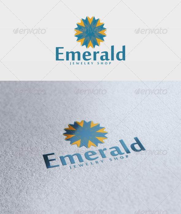 Emerald Logo - Vector Abstract