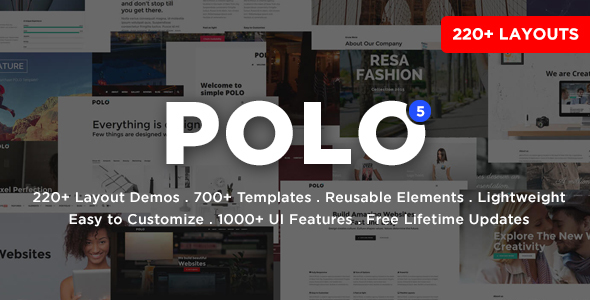 Awesome Polo - Responsive Multi-Purpose HTML5 Template