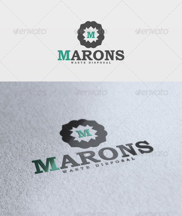 Marons Logo - Letters Logo Templates