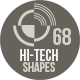 68 Photoshop Hi-Tech Shapes 1 - GraphicRiver Item for Sale