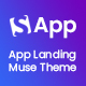 Sapp - App Landing Muse Template