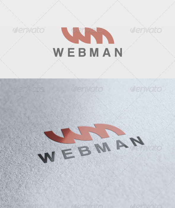 Web Media Logo - Letters Logo Templates