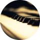 Nostalgic Rustic Felt Piano