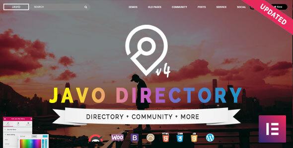 Download Javo Directory WordPress Theme Nulled