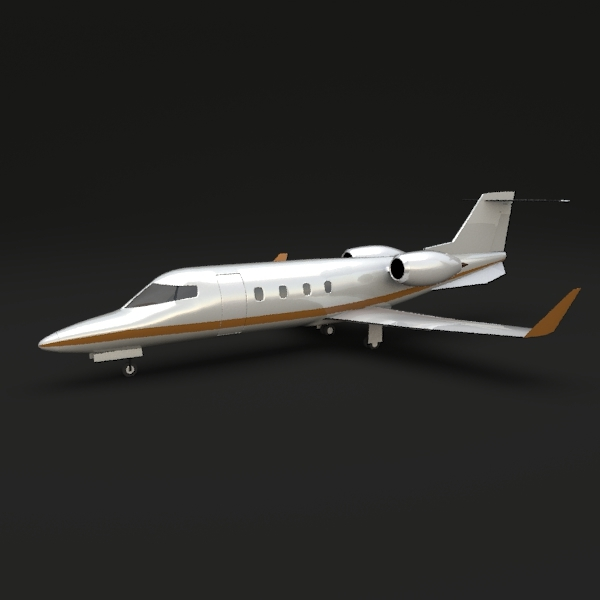 Learjet 54-55-56 Longhorn - 3DOcean Item for Sale