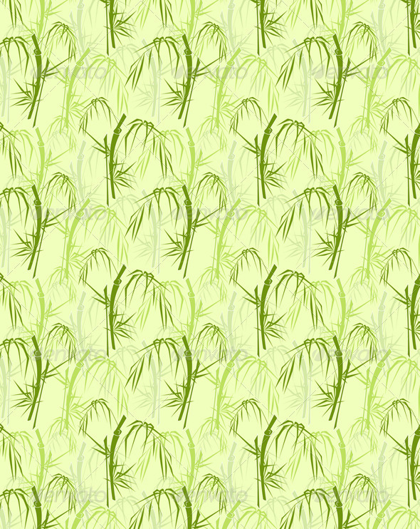 Bamboo Seamless Pattern - Patterns Decorative