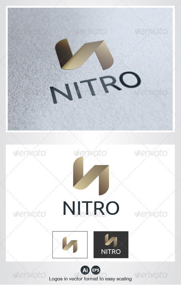 Nitro N Letter Logo - Letters Logo Templates