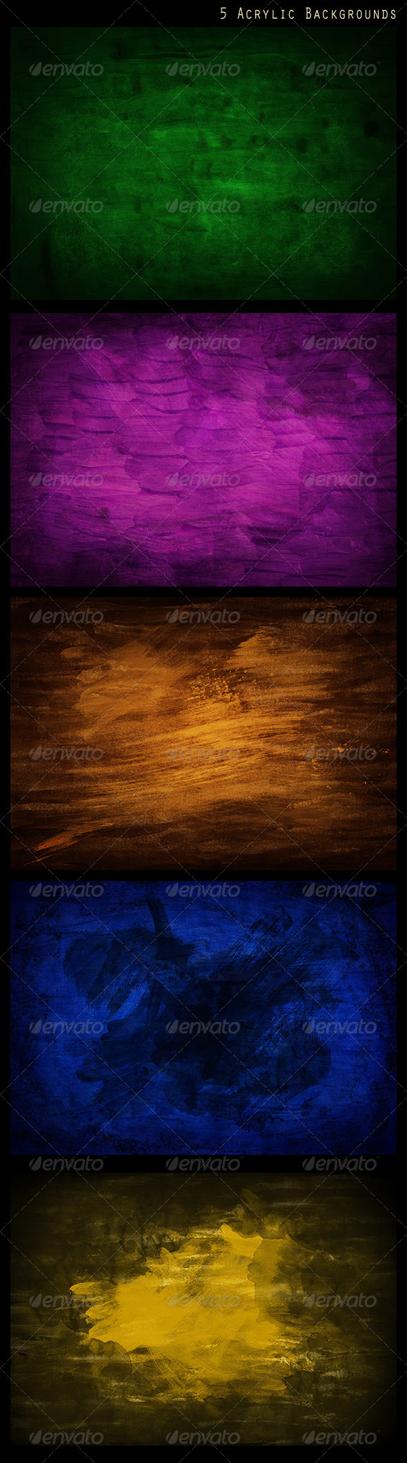 5 Acrylic Backgrounds - Backgrounds Graphics