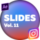 Instagram Stories Slides Vol. 11 - VideoHive Item for Sale