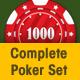 Complete Poker Set - GraphicRiver Item for Sale